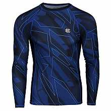 Рашгард  SHADOW blue  д/р, мужской