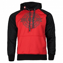 Толстовка hooded raglan STONE BOY red