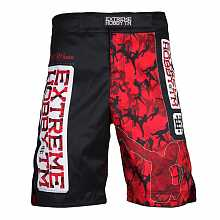 Шорты grappling RED WARRIOR black, мужские